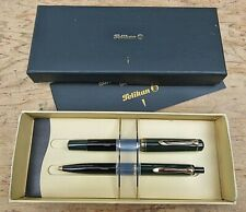 New Pelikan M250 K250 Rare Fountain + Ball Pen Set  MEDIUM 14k nib