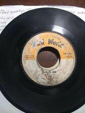 "Errol Dunkley-Train To Zion 7"" Vinyl Single 1975 ROOTS REGGAE"