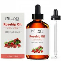 Organic Rosehip Seed Oil   100% Pure   4 oz   Cold Pressed