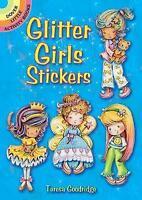 Glitter Girls Stickers (Dover Little Activity Books) by Goodridge, Teresa, NEW B