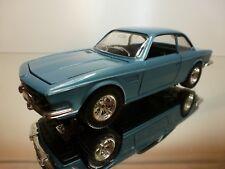 BBURAGO 0110 BMW 3.0 CSi - BLUE METALLIC 1:24 - VERY GOOD CONDITION