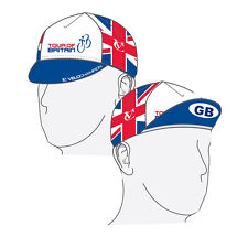 VELOCHAMPION Tour of Britain Cycling Euro Cap - Cotton Cycling Hat