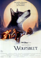 Wolfsblut ORIGINAL A0 Kinoplakat Walt Disney / Ethan Hawke / Klaus M. Brandauer