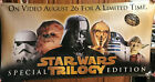 """1997 Star Wars Trilogy Special Edition Double Sided Vinyl Banner 72""""x36"""""""