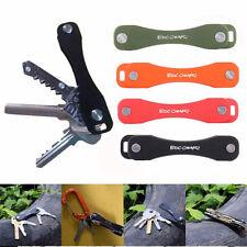 Key Genie Smart Compact Holder Tool Aluminium Organiser Pocket Folding Ring New