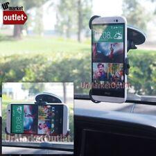 360 Rotating Windscreen Windshield Car/Truck Mount Phone Holder Fit HTC One M8