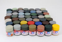 Tamiya Model Color Acrylic Mini Paint 10ml XF-1 - XF-85 81701-81785 Flat Matt