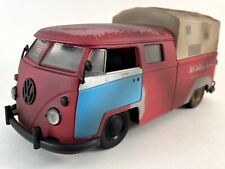 JADA 1963 VOLKSWAGEN BUS PICKUP 1:24 FOR SALE Bill's VW Emporiums Amazing Paint!