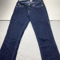 True Religion Women's Jeans Size 28 Low Rise Flare