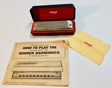 M Hohner Meister Klasse 580 Harmonica C with Case and Booklet (1971)