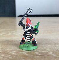 Warhammer 40k Eldar Dark Reaper Exarch Classic Metal Figure WH40K Games Workshop