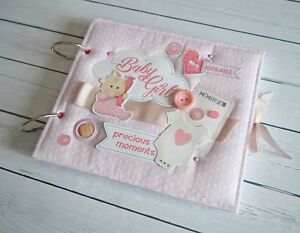 Handmade photo book for newborn
