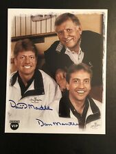 MICKEY MANTLE & SONS AUTOGRAPHED PHOTO