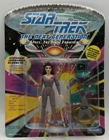 Playmates Star Trek TNG Lt Commander DEANNA TROI Action Figure NOC