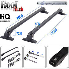 Aircraft Adjustable Roof Rack Cross Bars Top Cargo Luggage Carrier For Most Car