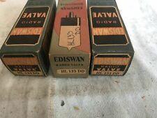Mazda Ediswan HL133DD x3. NOS vacuum tubes. Original packaging. Vintage.
