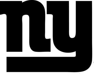 """New York Giants NFL Decal """"Sticker"""" for Car or Truck or Laptop"""