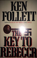 THE KEY TO REBECCA BY KEN FOLLETT  *SIGNED*FIRST ED BOMC*