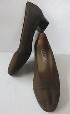 GABOR ° chice Pumps Gr. 38,5 grün Leder Damen Mode Schuhe Halbschuhe Slipper TOP