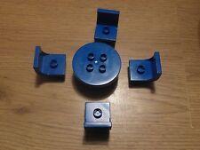 LEGO Duplo - 4 chaises et 1 table en Bleu-GMT54
