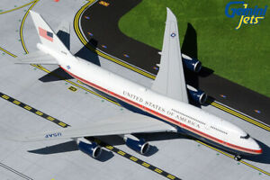 GEMINI JETS U.S.A.F AIR FORCE ONE BOEING B747-8 1:200 G2AFO898 IN STOCK