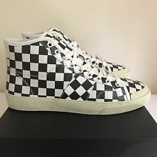 Saint Laurent high Court checkered sneaker EU 40