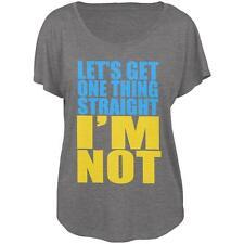 I'm Not Straight LGBT Juniors Dolman T Shirt