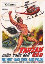 Affiche -  TARZAN AND THE VALLEY OF GOLD - 140x200cm