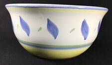 """William Sonoma Marisol Earthenware Hand Painted Italian Large Serving Bowl 11"""""""