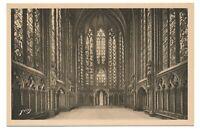 Paris France Notre Dame Cathedral Interior Intérieur Ste. Chapelle Yvon Postcard