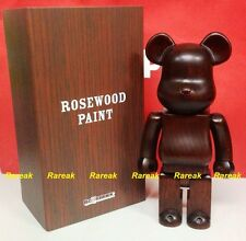 Medicom Be@rbrick Karimoku Rosewood Paint Wooden 400% Rose wood bearbrick 1pc