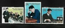 2018 Jose Raul Capablanca Chess Spanish Antilles Mnh Set