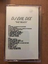 DJ Evil Dee Fat Beats CLASSIC 90s Bronx NYC Hip Hop Cassette Rap Tape Mixtape