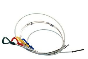 4pc Transmission & Oil Dip Stick Mercedes Benz Engine Gearbox Dipstick Set