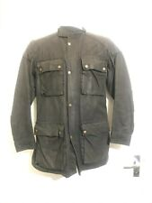 VINTAGE 80's BELSTAFF TRIALMASTER PRO WAXED COTTON MOTORCYCLE JACKET SIZE UK M