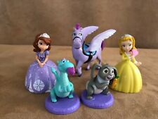Sophia the first PVC Disney Just play action figure lot cake topper princess