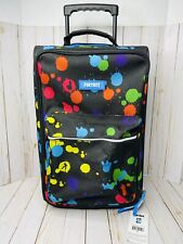 Fortnite KIds Rolling Luggage Carry On Suitcase - Color Splat - Brand New