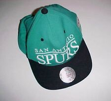 San Antonio Spurs NBA Mitchell & Ness Adult Unisex Green Black Cap One Size New