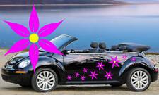 20 Flor Rosa Pétalo Daisy, Automóvil Pegatinas, Pared gráficos