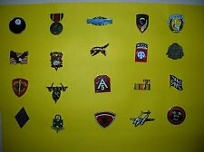 """Military & Flag Pins """" All New """" Lot of 20 *"""