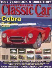 Aus Classic Car Ybk 97 GT6 MG PA Gulia SLR 5000 Lotus Cortina GT6 XJS RX-7 911