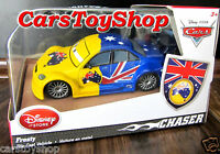 Disney Store Cars 2 Frosty Chase Diecast 1:43 Mark Winterbottom Toy Collectable