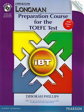 LONGMAN Preparation Course for TOEFL Test iBT w Answers, CD-ROM & iTests.com NEW
