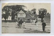 (w13t65-341) Golf Club House, SANDWICH, Golfing c1910 Unused VG+