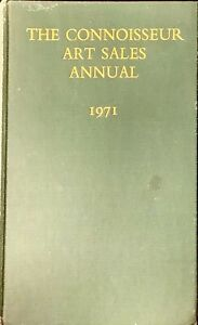 THE CONNOISSEUR ART SALES ANNUAL 1971