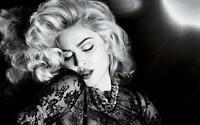 Madonna Portrait Stretched Album Cover Canvas Wall Art Poster Print