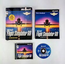 PC Game - Microsoft Flight Simulator 98 - Windows PC CD ROM Game Complete c3
