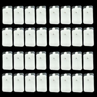 10-100pcs Snap On Electrode Pads for Tens Unit Pulse Massager Therapy Machine