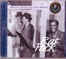 RAT PACK Members Edition PICTURE DISC CD Classic 50s DEAN MARTIN FRANK SINATRA