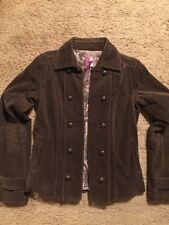 BUFFALO BY DAVID BITTON BROWN CORDUROY JACKET...NWOT...SIZE SMALL